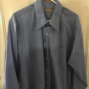 Men's XXL Long Sleeved Button Shirt Neck 18.5
